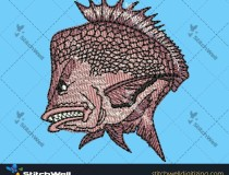 fish-image-embroidery-digitizing-for-hat